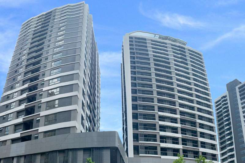 小英「8年20萬戶」社會住宅的目標可能嗎?圖為位於台北市南港區的「東明社會住宅」。(取自台北市社會住宅招租網)