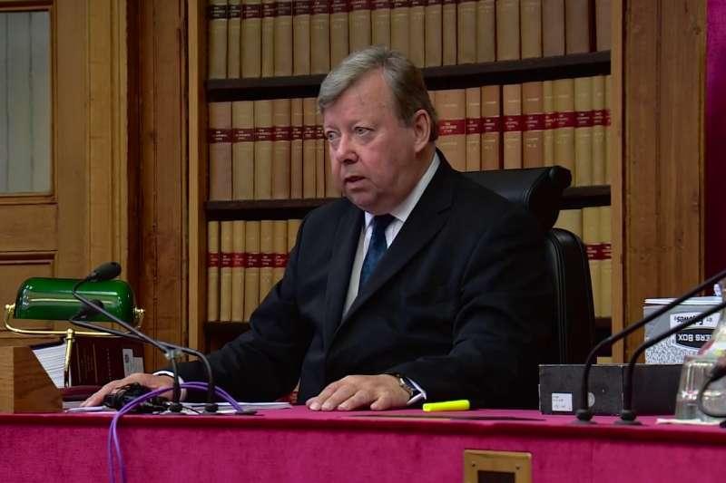 2019年9月11日,蘇格蘭最高民事法院判決首相強森中止國會之舉違法(AP)