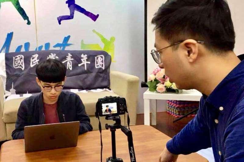 20190912-國民黨青年團總團長劉昱佑。(取自劉昱佑臉書)