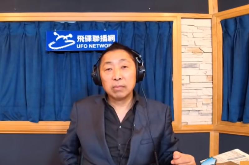 資深媒體人唐湘龍12日表示,國民黨31大老刊登的聲明如同「訃聞」。(取自唐湘龍飛碟聯播網影片)