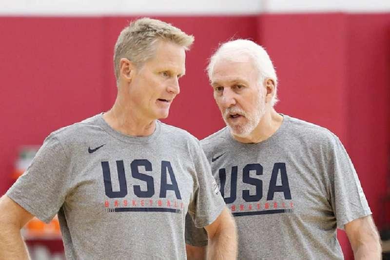 勇士教頭柯爾在今年世界盃擔任美國隊助教,期盼能將執教經驗帶回勇士。 (圖片取自勇士官網)
