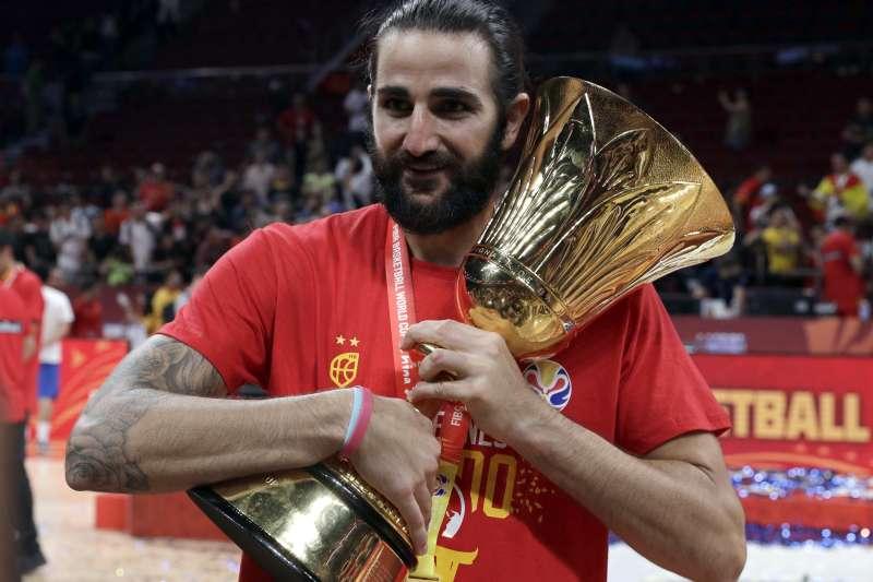 盧比歐在賽後回憶起2008年北京奧運時,西班牙在同一個球場與金牌失之交臂,他也坦言這樣的回憶會跟著他一輩子。 (美聯社)