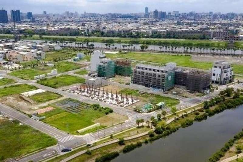 九份子重劃區12筆土地售出,建設安南新市鎮生態社區。 (圖/好房網提供)