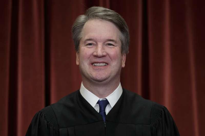 美國聯邦最高法院大法官卡瓦諾(AP)