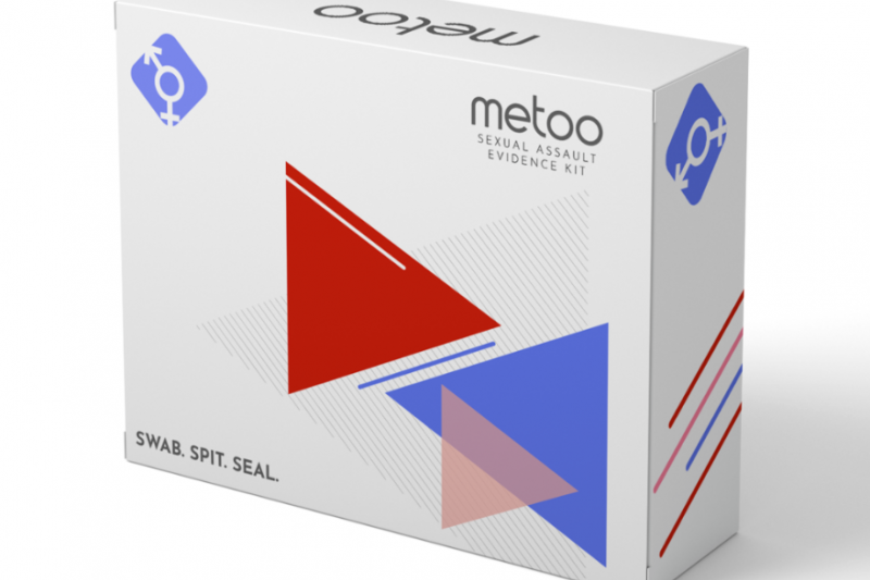 MeToo Kit 聲稱性侵受害者可以在家自行驗傷(圖/MeToo Kit)