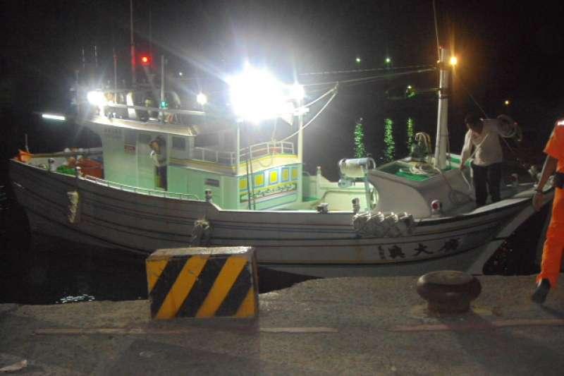 2013年5月9日,琉球籍「廣大興28號」漁船遭菲律賓公務船槍擊。(取自海巡署網站)