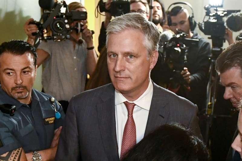 新任白宮國家安全顧問歐布萊恩(Robert C. O'Brien)(AP)