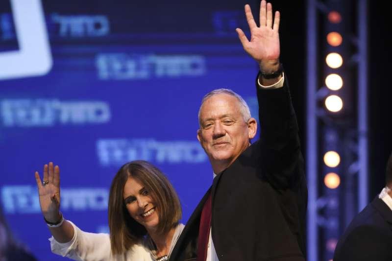 以色列大選:總理納坦雅胡勁敵甘茨(AP)