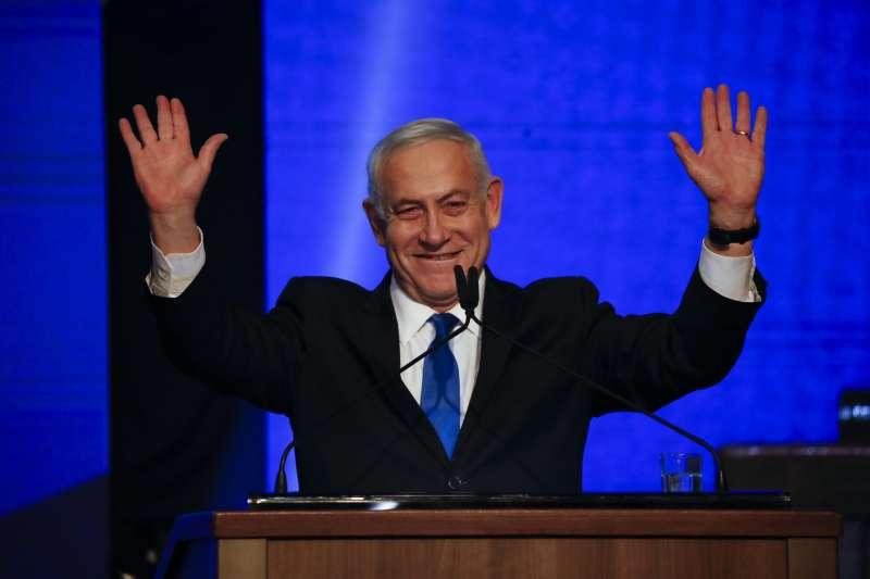 以色列大選:總理納坦雅胡(AP)