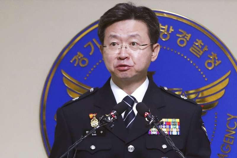 華城連環殺人案搜查本部長潘基洙19日表示,當年的疑兇很可能已經是目前正在服刑的某位受刑人。(美聯社)