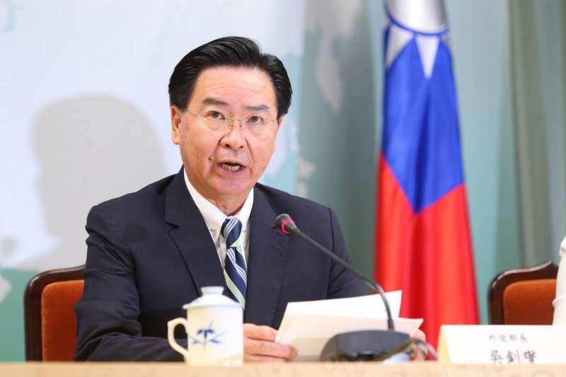外交部長吳釗燮20日宣布吉里巴斯已通知我國與我斷交事宜。(顏麟宇攝)