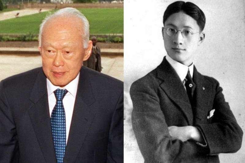 李光耀、徐志摩都是倫敦政治經濟學院(LSE)知名校友(圖片取自維基百科)