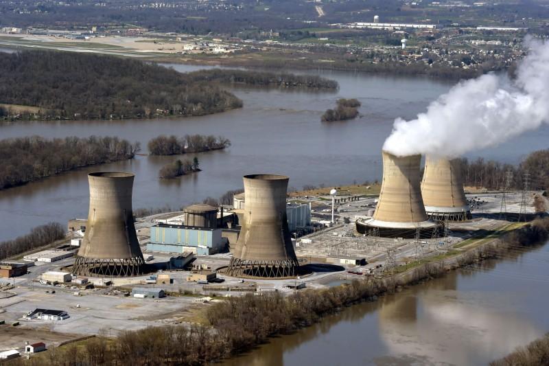 2019年12月,「羅蒙諾索夫院士號」發出了第一股的電流開始運行,此核電廠將取代佩偉克現有的一座老舊陸上核電站和火力電站的發電產能。(資料照,AP)