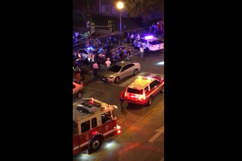 2019年9月19日,美國首都華盛頓晚間發生重大槍擊案(Twitter)