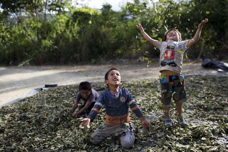 祕魯街童與毒品問題嚴重(AP)