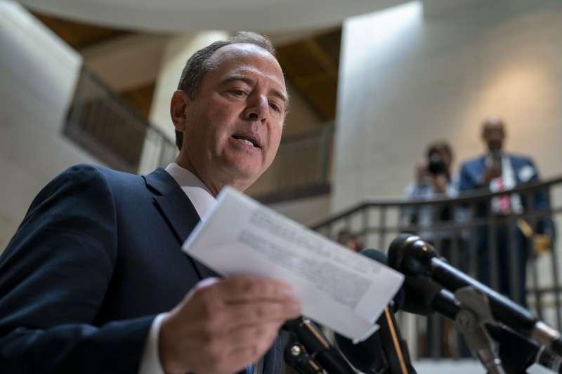 美國聯邦眾議院情報委員會(House Intelligence Committee)主席席夫(Adam Schiff)(AP)