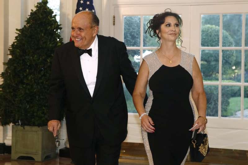 美國總統川普的私人律師朱利安尼(Rudy Giuliani)(AP)
