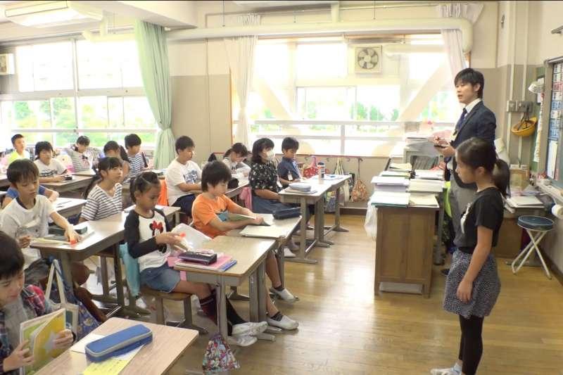受政府新制及校園霸凌問題影響,日本小學教師工作繁重。(翻攝東京教育委員會影片)