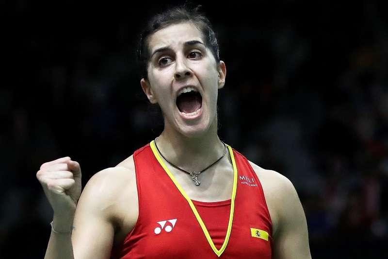 瑪琳在中國公開賽逆轉擊敗戴資穎,奪下今年球季的第一冠。 (圖片取自BWF官網)