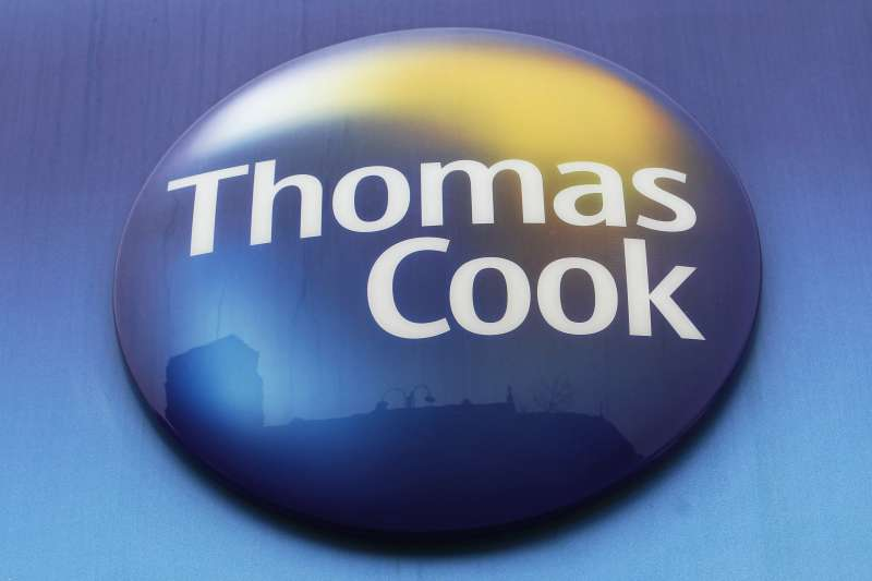 英國旅遊業鉅子「Thomas Cook」(AP)