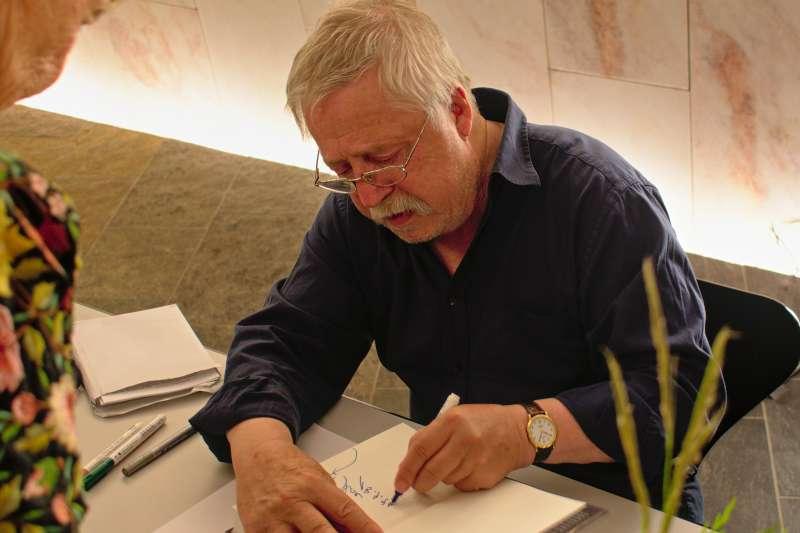 沃爾夫•比爾曼(Wolf Biermann)。(取自維基百科)