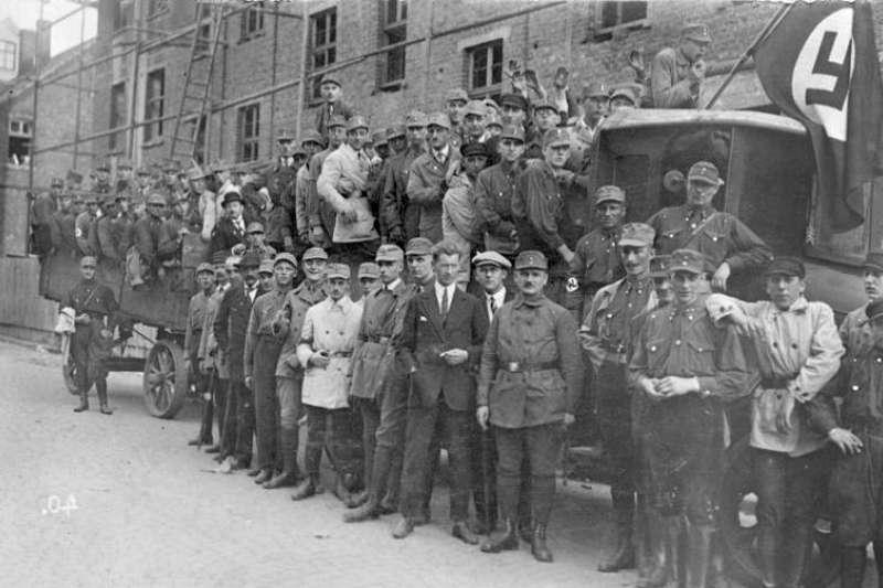 納粹衝鋒隊(SA)。(取自維基百科)