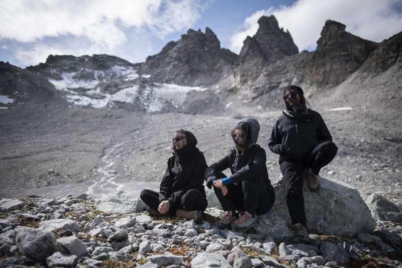 皮措爾冰川如今覆蓋面積比4座足球場還要小。(美聯社)