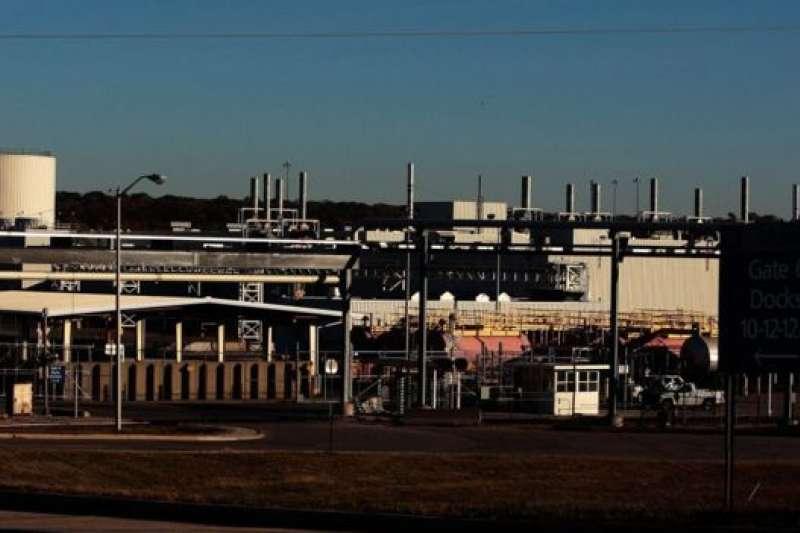戴頓過去的通用汽車工廠。(翻攝自BBC)
