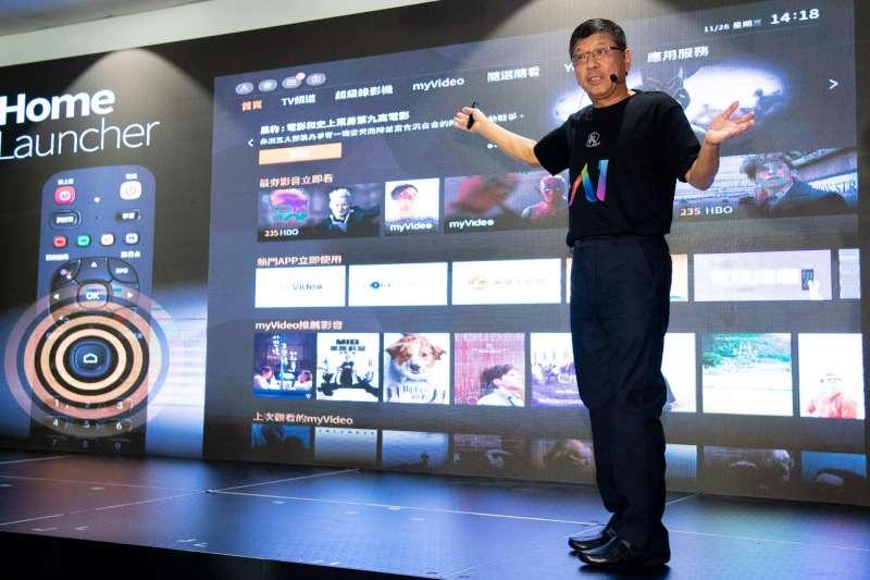 凱擘大寬頻王鴻紳總經理進行A1開放平台服務說明 (圖/凱擘提供)