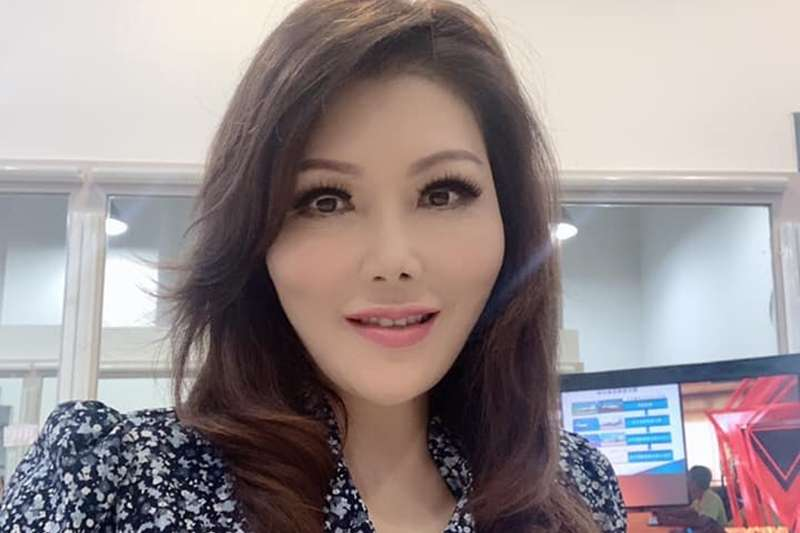 20190924-對於被高雄市長韓國瑜的妻子李佳芬控告報導不實,年代新聞主播張雅琴回嗆,「我不是『嚇大』畢業的」。(資料照,取自張雅琴臉書)