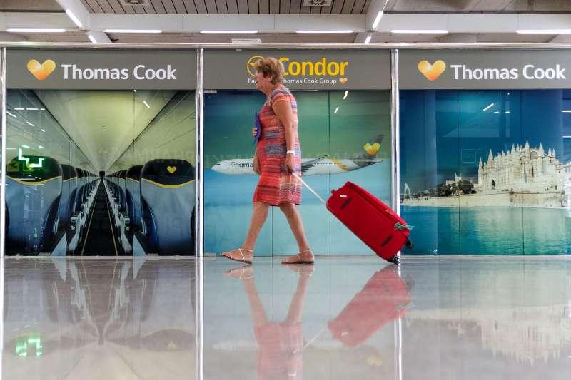 英國旅遊業鼻祖Thomas cook宣布倒閉(AP)