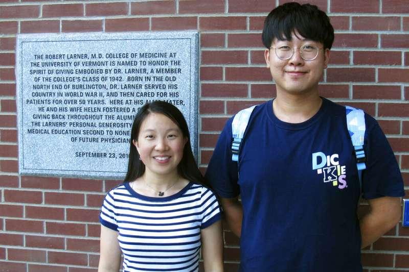 在美國大學研究所就讀的中國學生。(AP)