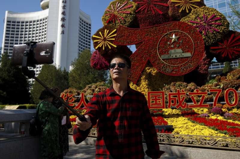 2019年9月,中國慶祝10月1日中華人民共和國成立70周年,慶典籌備工作緊鑼密鼓進行(AP)