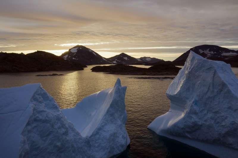 全球暖化導致極地加速風冰,海平面上升,將引發災難(AP)