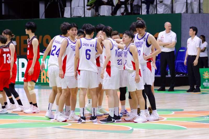 半場好球惜敗衛冕軍日本,中華隊明天對上印度必須取勝。(Double Pump 女子籃球誌提供)