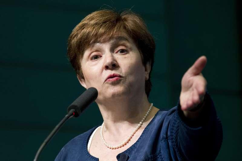 國際貨幣基金組織(IMF)新任總裁格奧爾基耶娃(Kristalina Georgieva)(AP)