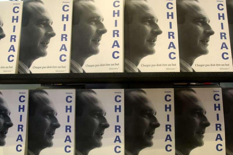 法國總統席哈克(Jacques Chirac)的回憶錄(AP)
