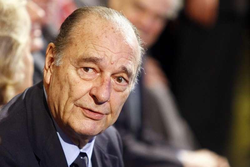 法國總統席哈克(Jacques Chirac)(AP)