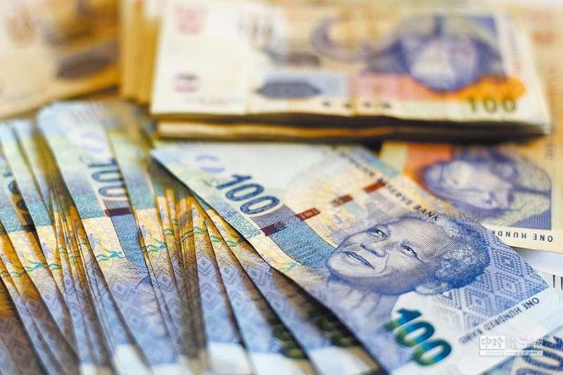 南非幣。(圖片來源:路透)