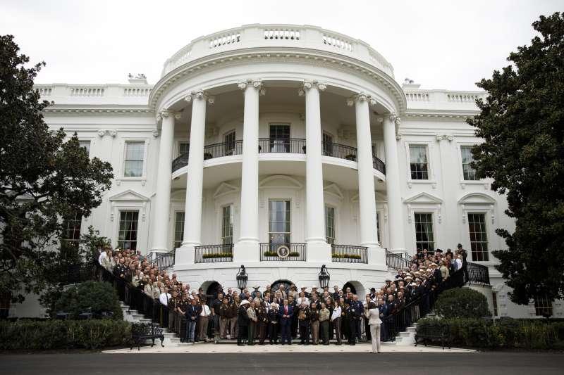 美國白宮(AP)