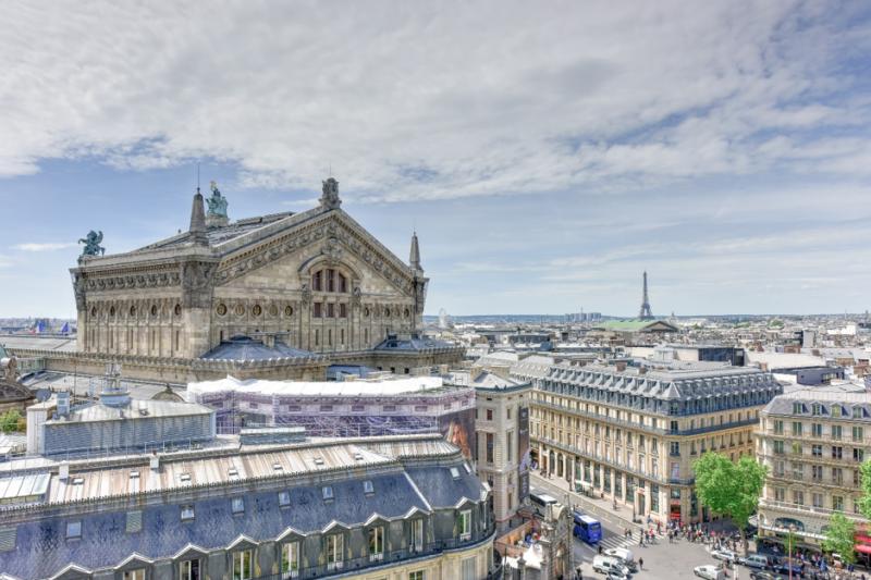 拉法葉百貨和世界遺產-巴黎屋頂也是一個極具在地特色的免費景點(圖/INSIDR)