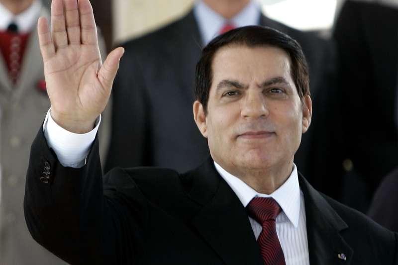 突尼西亞前總統本.阿里(Zine El Abidine Ben Ali)(AP)
