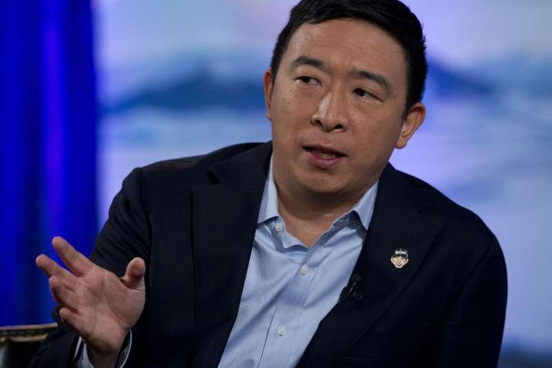 台裔美國人楊安澤爭取民主黨提名角逐白宮大位(AP)