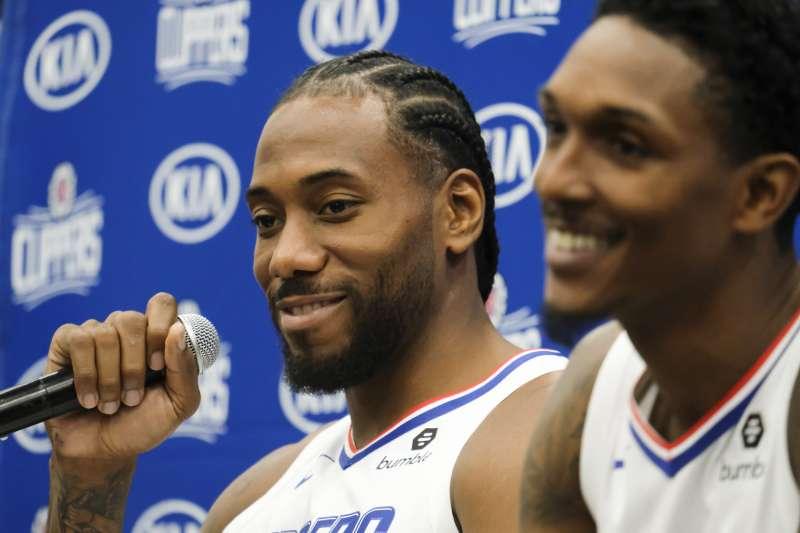 NBA開季上演「洛城雙雄」對決,球迷引頸期盼。 (資料照,美聯社)