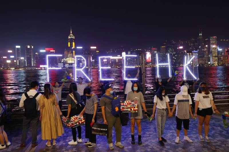 香港和新加坡(及享有自主地位的民主國家台灣)與數百年前的南海國家一樣都仗恃地理位置和與中國的文化關聯而繁榮,但如今它們的不安全卻和它們的財富一樣明顯。(資料照,美聯社)
