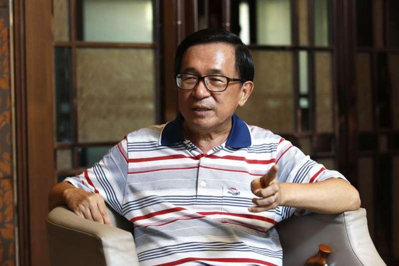 歷經滄桑,陳水扁體會了政治就是成王敗寇。(讀者提供)