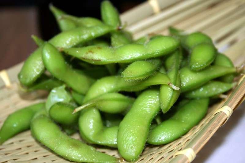 吃毛豆能防乳癌?(圖/維基百科)