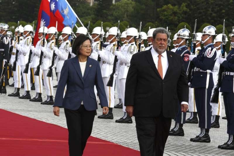「中華民國」到台灣後,一直沒有邦交國歸零經驗。(郭晉瑋攝)