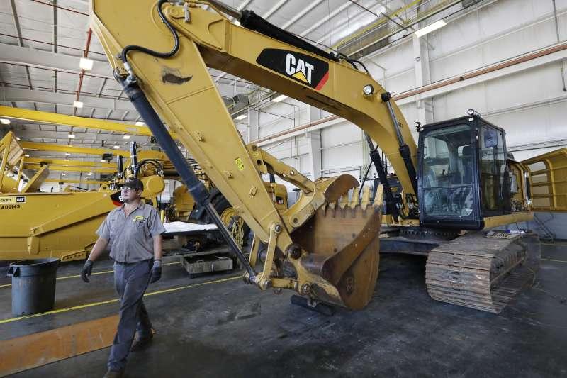 美國製造業指數創下近10年來新低。(AP)