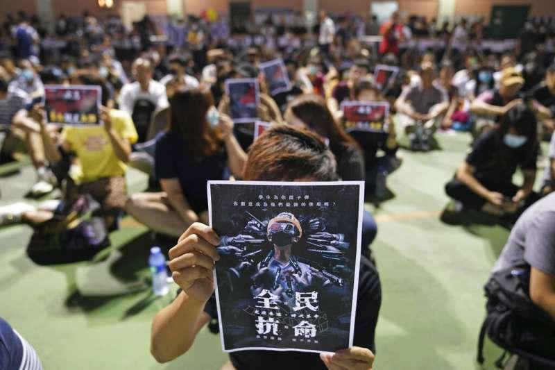 香港反送中抗爭延燒三個多月,完全沒有消退跡象。(美聯社)